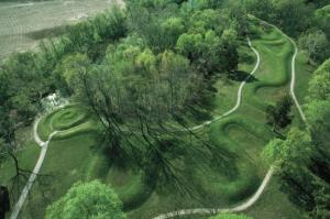 Serpent Mounds in Ohio, USA