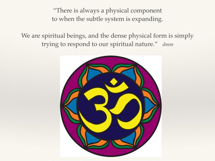 Spiritual Beingness, dmm