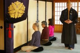 zen sitting